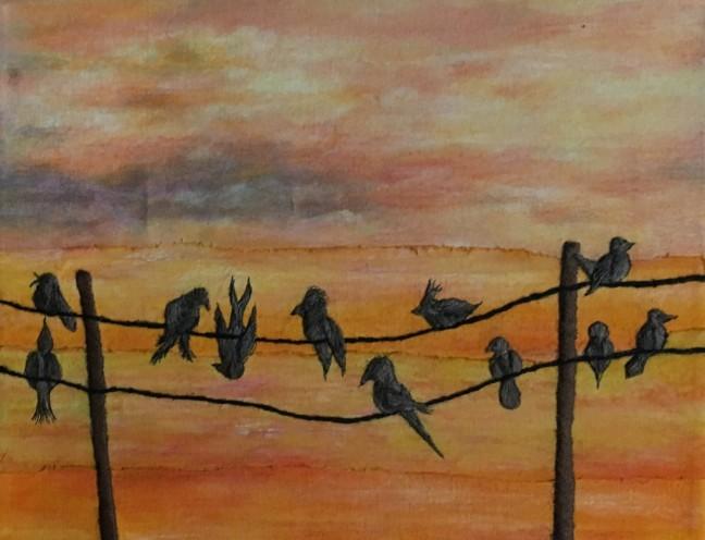 Jackie Keirnan-Hale, Birds on a Wire