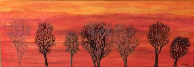 Jackie Keirnan Hale,Spring Trees